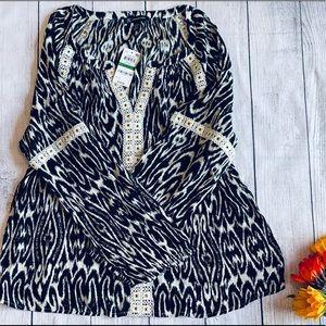 International concepts blouse size L